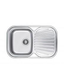 Кухонная мойка Fabiano 740-480 сатин (0,80)