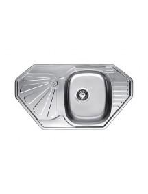 Кухонная мойка Fabiano 850-472 угл. микродек. (0,80)