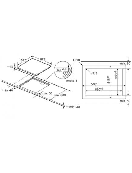 Индукционная поверхность Siemens EX601LXC1E