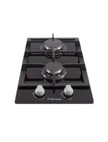 Газовая поверхность Fabiano FHG16-2VGH Black glass