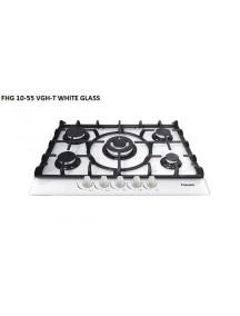 Газовая поверхность Fabiano FHG10-55VGH-T White Glass