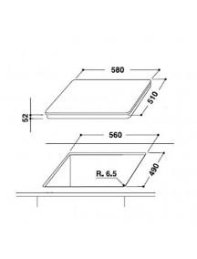 Электрическая поверхность Hotpoint-Ariston KIS640B