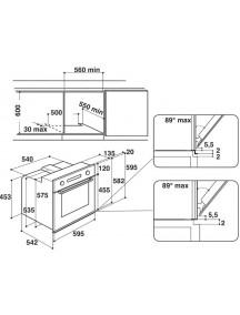 Духовой шкаф Whirlpool AKP745/WH