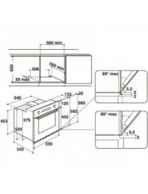 Электрический духовой шкаф Whirlpool AKZ96230WH