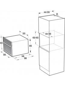 Электрический духовой шкаф Gorenje BCM547ORAB