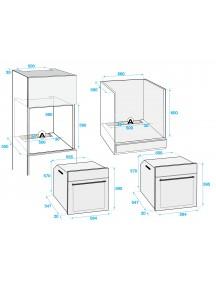 Духовой шкаф Beko BIM25302X