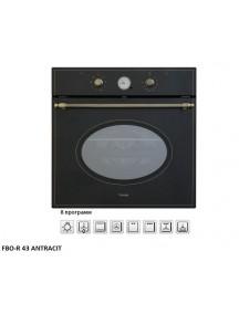 Электрический духовой шкаф Fabiano FBO-R43 Antracit