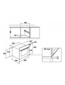 Электрический духовой шкаф Indesit IFW6544IX