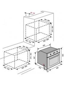 Электрический духовой шкаф Ventolux MONT BLANC