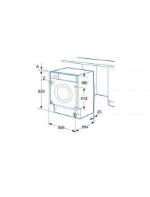 Встраиваемая стиральная машина с сушкой Siemens WK14D541EU