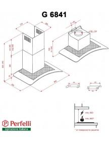 Вытяжка Perfelli G 9841