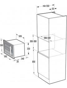 Встраиваемая микроволновая печь Gorenje BM 235 ORA