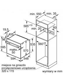 Духовой шкаф Bosch HBA554YS0