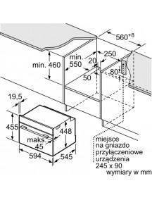 Встраиваемая микроволновая печь Bosch CFA634GS1