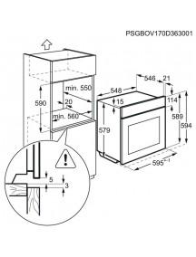 Духовой шкаф AEG BEB331110M