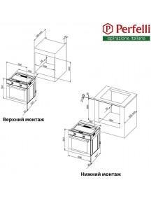 Духовой шкаф Perfelli BOE 6760 WH