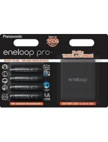 Panasonic Eneloop Pro  4xAA 2500 mAh + case