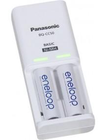 Panasonic Compact Charger + Eneloop 2xAA 1900 mAh