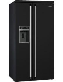 Холодильник Smeg SBS963N черный