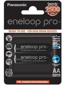 Panasonic Eneloop Pro  2xAA 2500 mAh