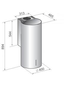 Вытяжка Zirtal KD-CL нержавеющая сталь