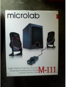 Компьютерные колонки Microlab M-111