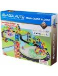 Конструктор Magplayer Train Castle Set MPK-99