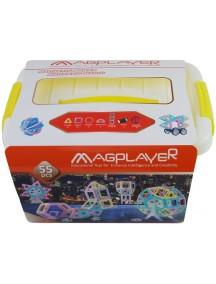 Конструктор Magplayer 55 Pieces Set MPT2-55