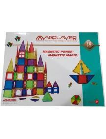 Конструктор Magplayer 70 Pieces Set MPL-70