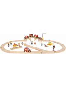 Железная дорога Janod Story Express J08539