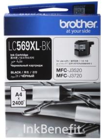 Картридж Brother LC-569XLBK
