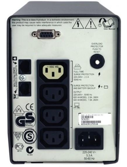 ИБП APC Smart-UPS SC 420VA 420ВА