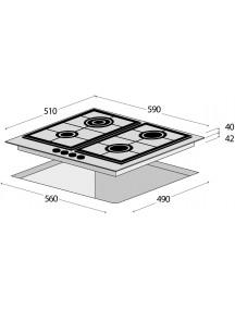 Варочная поверхность Concept PDV 4760