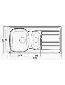 Interline AED 2015 1000x500мм