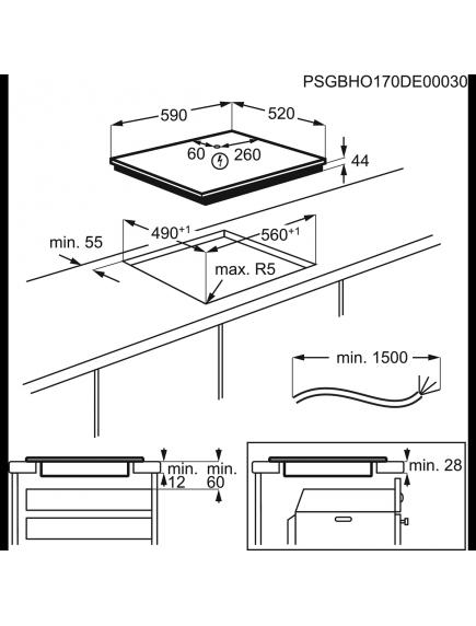 Варочная поверхность Electrolux IPE6440KXV