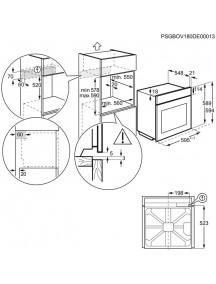 Духовой шкаф Electrolux OEF 3H70TX