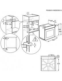 Духовой шкаф Electrolux OEF 3H70TK