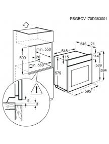 Духовой шкаф AEG BPE742320B