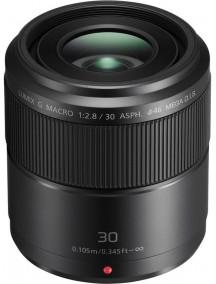Объектив Panasonic Micro 4/3 Lens 30mm f/28 ASPH MEGA OIS Lumix G MAC