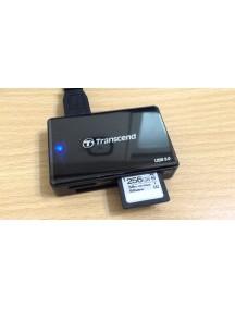 Картридер/USB-хаб Transcend TS-RDF8K2