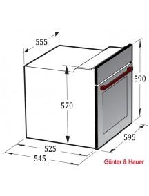 Духовой шкаф Gunter&Hauer EOM 557 WTEL