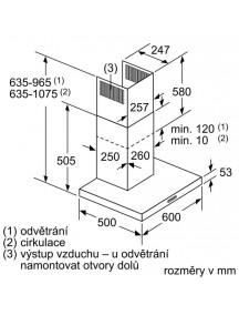 Вытяжка Bosch DWB64BC50