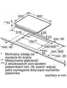 Варочная поверхность PVW851FB5E