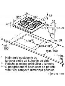 Варочная поверхность Bosch PNP6B6B90