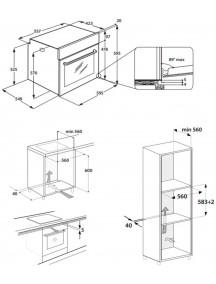 Духовой шкаф Whirlpool OAS KP8V1 IX