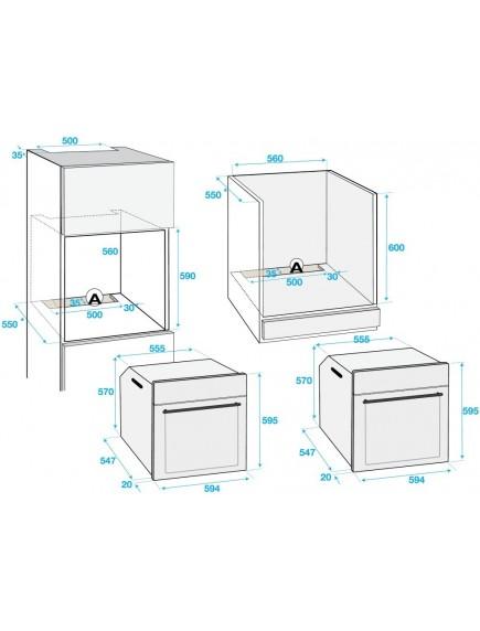 Духовой шкаф Beko BIM25301XCS