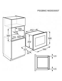 Встраиваемая микроволновая печь Electrolux LMS2203EMK