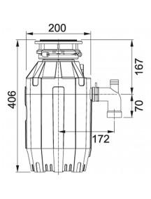 Измельчитель отходов Franke TE-125 134.0535.242