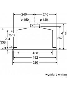 Вытяжка Bosch DHL585B