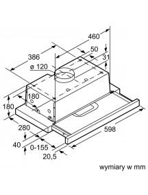 Вытяжка Bosch DFT63AC50